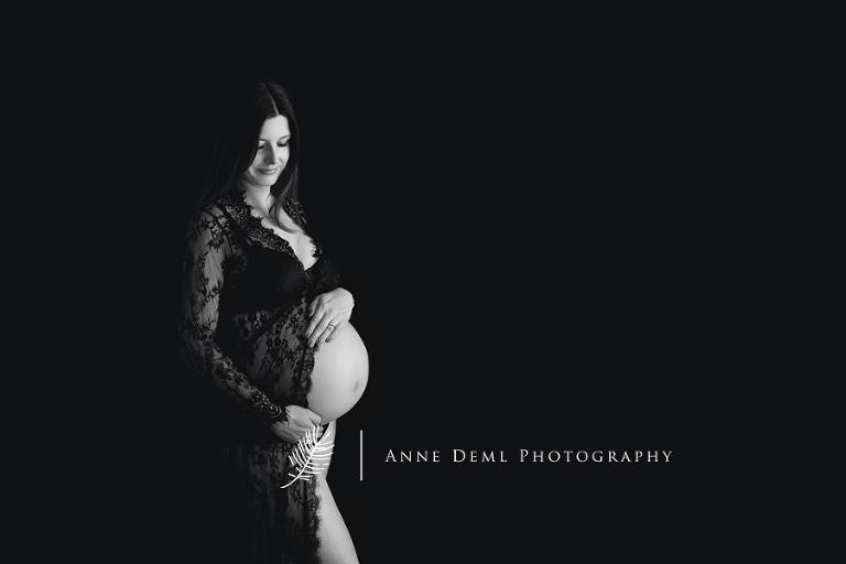 Babybauchfotos gefühlvoll und ungestellt - Fotostudio